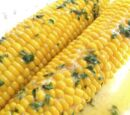 Parmesan Corn on the Cob by Elle Bee