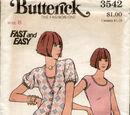 Butterick 3542 A