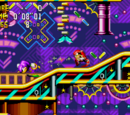 Knuckles' Chaotix stages