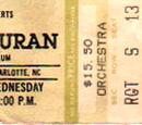 1987 - 15 July: Charlotte, NC (USA)