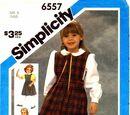 Simplicity 6557 A