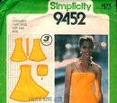 Simplicity 9452