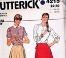 Butterick 4215