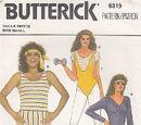 Butterick 6319 A