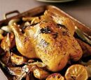 Roast Chicken with Lemon and Fennel by SpiritualCook