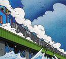 The Jetty Rail Bridge
