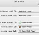CDs & DVDs (System Preferences)