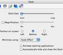Dock (System Preferences)