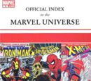 Official Index to the Marvel Universe Vol 1 6