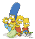 Marge, Maggie, Lisa & Bart.png