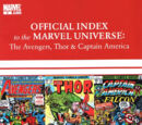 Avengers, Thor & Captain America: Official Index to the Marvel Universe Vol 1 5
