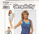 Simplicity 9158 A