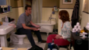 Marshall and Lily trapped in bathroom.png