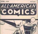 All-American Comics Vol 1 Ashcan