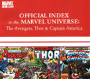 Avengers, Thor & Captain America: Official Index to the Marvel Universe Vol 1 6