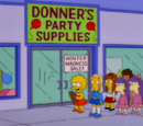 Donner's Party Supplies