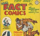 Real Fact Comics/Covers