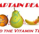 Captain Pear and the Vitamin Team