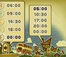 Puzle 3: Horario del autobús