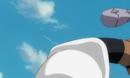 Yoruichi kicks Aizen.png