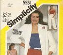 Simplicity 5551 B