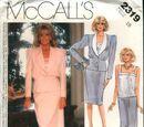 McCall's 2319 A