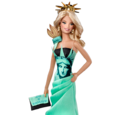 Statue of Liberty Barbie Doll (T3772)