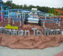 Mission to Mars roller coaster