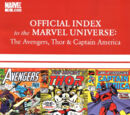 Avengers, Thor & Captain America: Official Index to the Marvel Universe Vol 1 10
