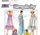 Simplicity 8066 A