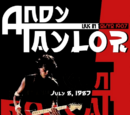 Andy Taylor: Live In Tokyo 1987