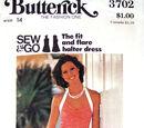 Butterick 3702 A