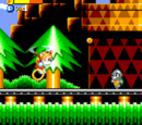 Tails' Skypatrol stages