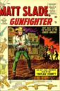 Matt Slade, Gunfighter Vol 1 1.jpg