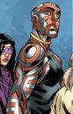 Nezhno Abidemi (Earth-616) and Ruth Aldine (Earth-616) from New X-Men Vol 2 23 0001.jpg