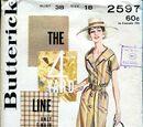 Butterick 2597