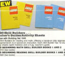 2020 LEGO Beginning Reading Skill Builder Books 1 and 2