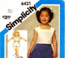 Simplicity 6421 A
