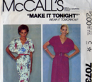McCall's 7073 A