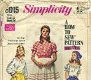 Simplicity 8015 A