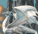 Dragones blancos u plateados