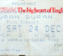 1988 - 24 December: Birmingham (UK)