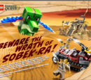 Beware The Wrath of Sobek-Ra!