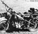 Duitse motoren met zijspan