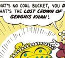 Couronne de Gengis Khan