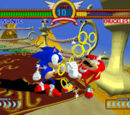 Sonic the Fighters screenshots