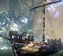 Prison barge