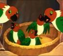 Green-wing Song Bird
