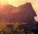 Hut on the cliff