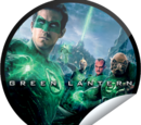 Green Lantern Opening Weekend (Sticker)